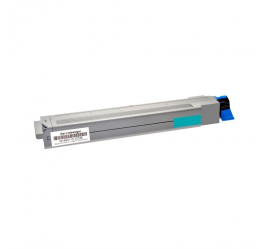 OKI EXECUTIVE ES3640 CYAN TONER COMPATIBLE (42918927)
