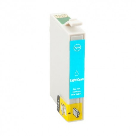 EPSON T0595 CYAN LIGHT CARTUCHO DE TINTA COMPATIBLE (C13T05954010)