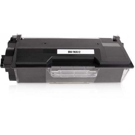 BROTHER TN3512 NEGRO CARTUCHO DE TONER COMPATIBLE