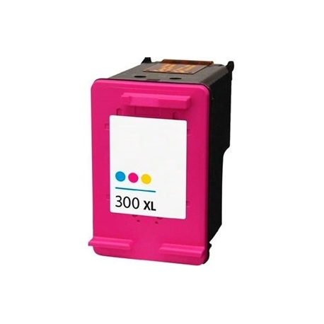 HP 300XL TRICOLOR CARTUCHO DE TINTA COMPATIBLE (CC644EE)