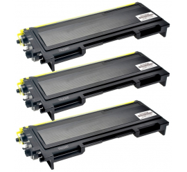 PACK X 3 BROTHER TN2000/TN2005/TN350 NEGRO CARTUCHO DE TONER COMPATIBLE
