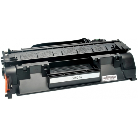 HP CE505A NEGRO CARTUCHO DE TONER COMPATIBLE Nº 05A