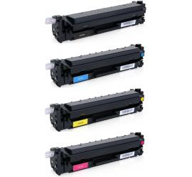PACK X 4 HP CF410X/CF411X/CF412X/CF413X CMYK CARTUCHOS DE TONER COMPATIBLES Nº 410X