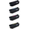 PACK X 4 HP CF360X/CF361X/CF362X/CF363X CMYK CARTUCHOS DE TONER COMPATIBLES Nº 508X