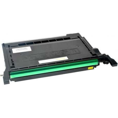 SAMSUNG CLP600/CLP650 AMARILLO CARTUCHO DE TONER COMPATIBLE (CLP-Y600A)