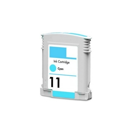 HP 11 CYAN CARTUCHO DE TINTA COMPATIBLE (C4836A)