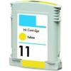 HP 11 AMARILLO CARTUCHO DE TINTA COMPATIBLE (C4838A)