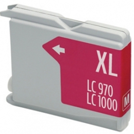 BROTHER LC1000XL/LC970XL MAGENTA CARTUCHO DE TINTA COMPATIBLE