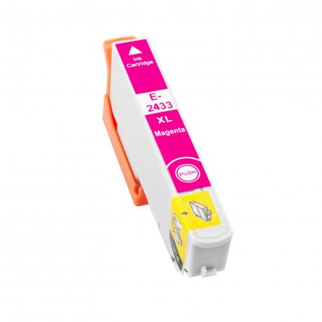 EPSON T2433/T2423 (24XL) MAGENTA CARTUCHO DE TINTA COMPATIBLE (C13T24334010)