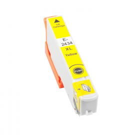 EPSON T2434/T2424 (24XL) AMARILLO CARTUCHO DE TINTA COMPATIBLE