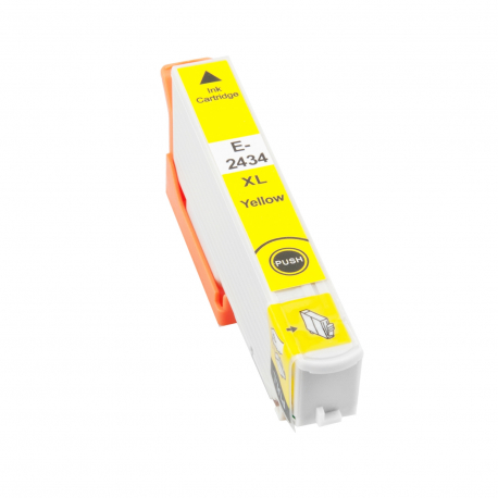 EPSON T2434/T2424 (24XL) AMARILLO CARTUCHO DE TINTA COMPATIBLE (C13T24344010)