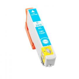 EPSON T2435/T2425 (24XL) CYAN LIGHT CARTUCHO DE TINTA COMPATIBLE