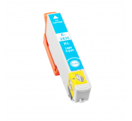 EPSON T2435/T2425 (24XL) CYAN LIGHT CARTUCHO DE TINTA COMPATIBLE (C13T24354010)