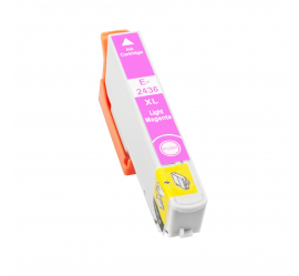 EPSON T2436/T2426 (24XL) MAGENTA LIGHT CARTUCHO DE TINTA COMPATIBLE (C13T24364010)