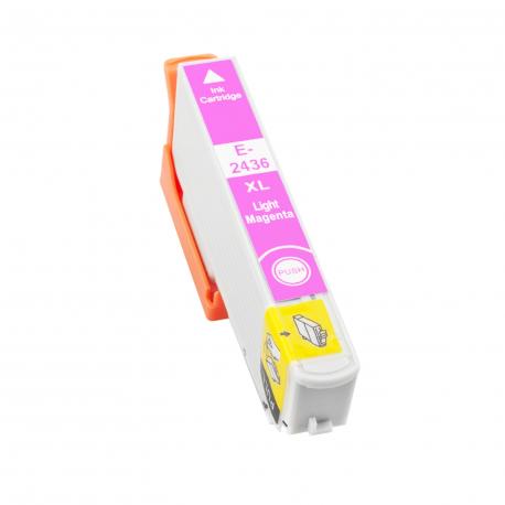 EPSON T2436/T2426 (24XL) MAGENTA LIGHT CARTUCHO DE TINTA COMPATIBLE (C13T24364010)