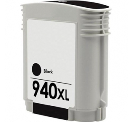 HP 940XL NEGRO CARTUCHO DE TINTA PIGMENTADA COMPATIBLE (C4906AE)