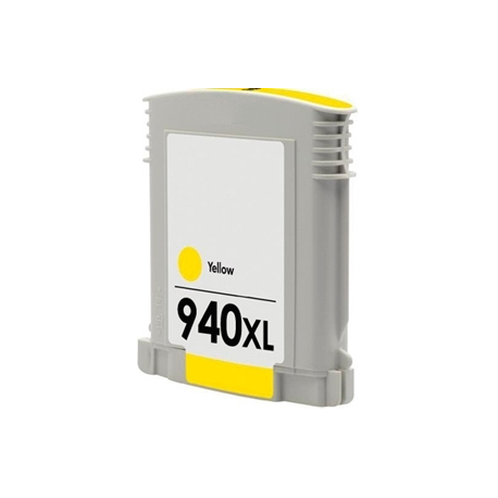 HP 940XL AMARILLO CARTUCHO DE TINTA COMPATIBLE (C4909AE)