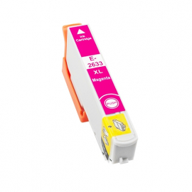 EPSON T2633/T2613 (26XL) MAGENTA CARTUCHO DE TINTA COMPATIBLE