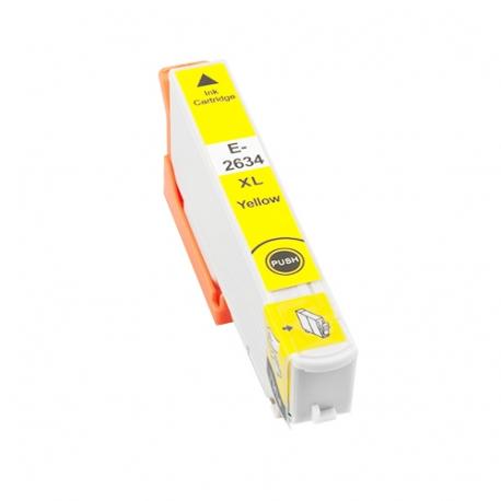 EPSON T2634/T2614 (26XL) AMARILLO CARTUCHO DE TINTA COMPATIBLE (C13T26344010)