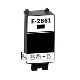 EPSON T266 NEGRO CARTUCHO DE TINTA COMPATIBLE (C13T26614010)