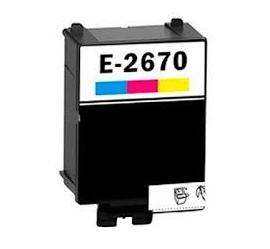 EPSON T267 TRICOLOR CARTUCHO DE TINTA COMPATIBLE (C13T26704010)