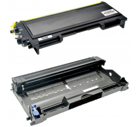 PACK BROTHER TN2000/TN2005/TN350 + DR2000/DR2005/DR350 NEGRO CARTUCHO DE TONER + TAMBOR (DRUM) COMPATIBLE