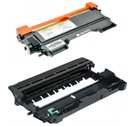 PACK BROTHER TN2220/TN2010/DR2200 NEGRO CARTUCHO DE TONER Y TAMBOR (DRUM) COMPATIBLE