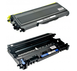 PACK BROTHER TN2120/TN2110/DR2100/DR360 NEGRO CARTUCHO DE TONER + TAMBOR (DRUM) COMPATIBLE
