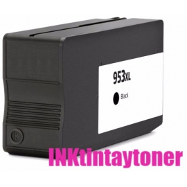 HP 953XL/957XL V6 NEGRO CARTUCHO DE TINTA PIGMENTADA COMPATIBLE (L0S70AE/L0S58AE/L0R40AE)