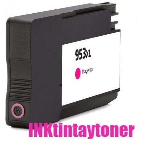 HP 953XL MAGENTA CARTUCHO DE TINTA COMPATIBLE F6U17AE/F6U13AE