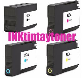 PACK HP 953XL/957XL CMYK CARTUCHOS DE TINTA COMPATIBLES