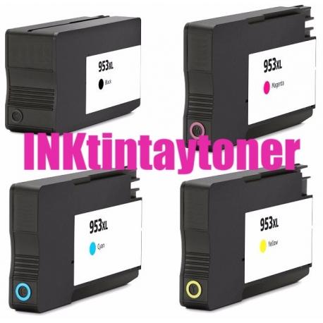 HP 953XL/957XL V8 CMYK CARTUCHOS DE TINTA COMPATIBLES