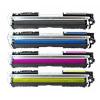 PACK X 4 HP CE310A/CE311A/CE312A/CE313A CMYK CARTUCHOS DE TONER COMPATIBLE Nº126A