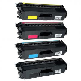 PACK 4 BROTHER TN421/TN423/TN426 CMYK CARTUCHOS DE TONER COMPATIBLES (TN-421/TN-423)