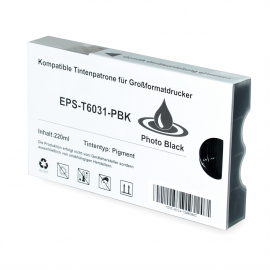 EPSON T603100 NEGRO PHOTO CARTUCHO DE TINTA PIGMENTADA COMPATIBLE (C13T603100)
