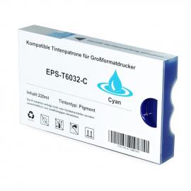 EPSON T603200 CYAN CARTUCHO DE TINTA PIGMENTADA COMPATIBLE (C13T603200)