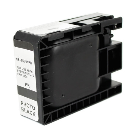 EPSON T5801 NEGRO PHOTO CARTUCHO DE TINTA COMPATIBLE (C13T580100)