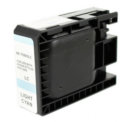 EPSON T5805 CYAN LIGHT CARTUCHO DE TINTA COMPATIBLE (C13T580500)