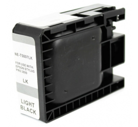 EPSON T5807 NEGRO LIGHT CARTUCHO DE TINTA COMPATIBLE (C13T580700)