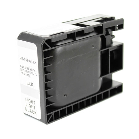 EPSON T5809 NEGRO LIGHT LIGHT CARTUCHO DE TINTA COMPATIBLE (C13T580900)