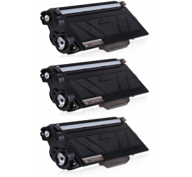PACK 3 BROTHER TN3330/TN3380 NEGRO CARTUCHOS DE TONER COMPATIBLES