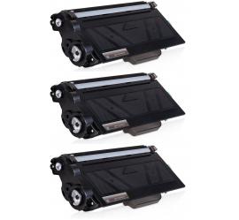 PACK 3 BROTHER TN3330/TN3380 NEGRO CARTUCHOS DE TONER COMPATIBLES