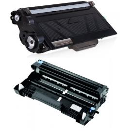 PACK BROTHER TN3330/TN3380/DR3300 NEGRO CARTUCHO DE TONER Y TAMBOR (DRUM) COMPATIBLES