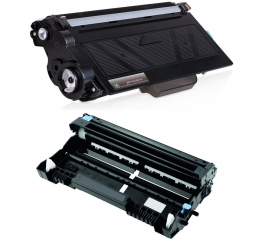 PACK BROTHER TN3330/TN3380/DR3300 NEGRO CARTUCHO DE TONER Y TAMBOR (DRUM) COMPATIBLES