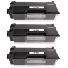 PACK 3 BROTHER TN3430/TN3480 NEGRO CARTUCHOS DE TONER COMPATIBLES