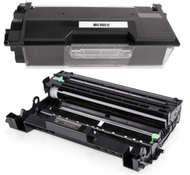 PACK BROTHER TN3512/DR3400 NEGRO CARTUCHO DE TONER Y TAMBOR (DRUM) COMPATIBLE
