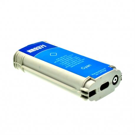 HP 72 CYAN CARTUCHO DE TINTA COMPATIBLE (C9371A)