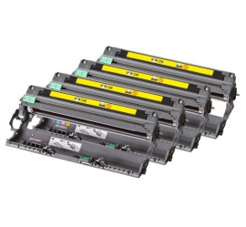 PACK 4 BROTHER DR230 CMYK TAMBORES DE IMAGEN COMPATIBLES (DRUM)