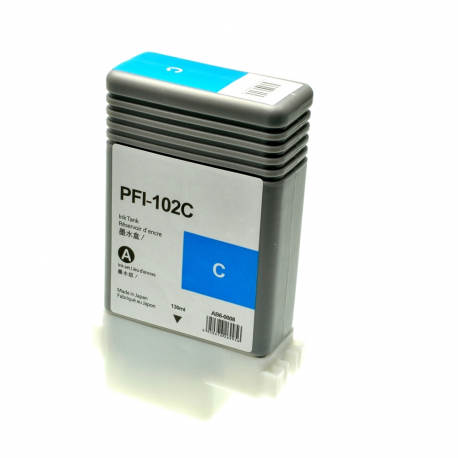 CANON PFI102 CYAN CARTUCHO DE TINTA COMPATIBLE (0896B001)
