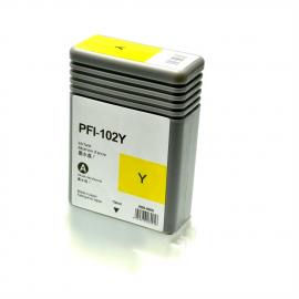 CANON PFI102 AMARILLO CARTUCHO DE TINTA COMPATIBLE (0898B001)
